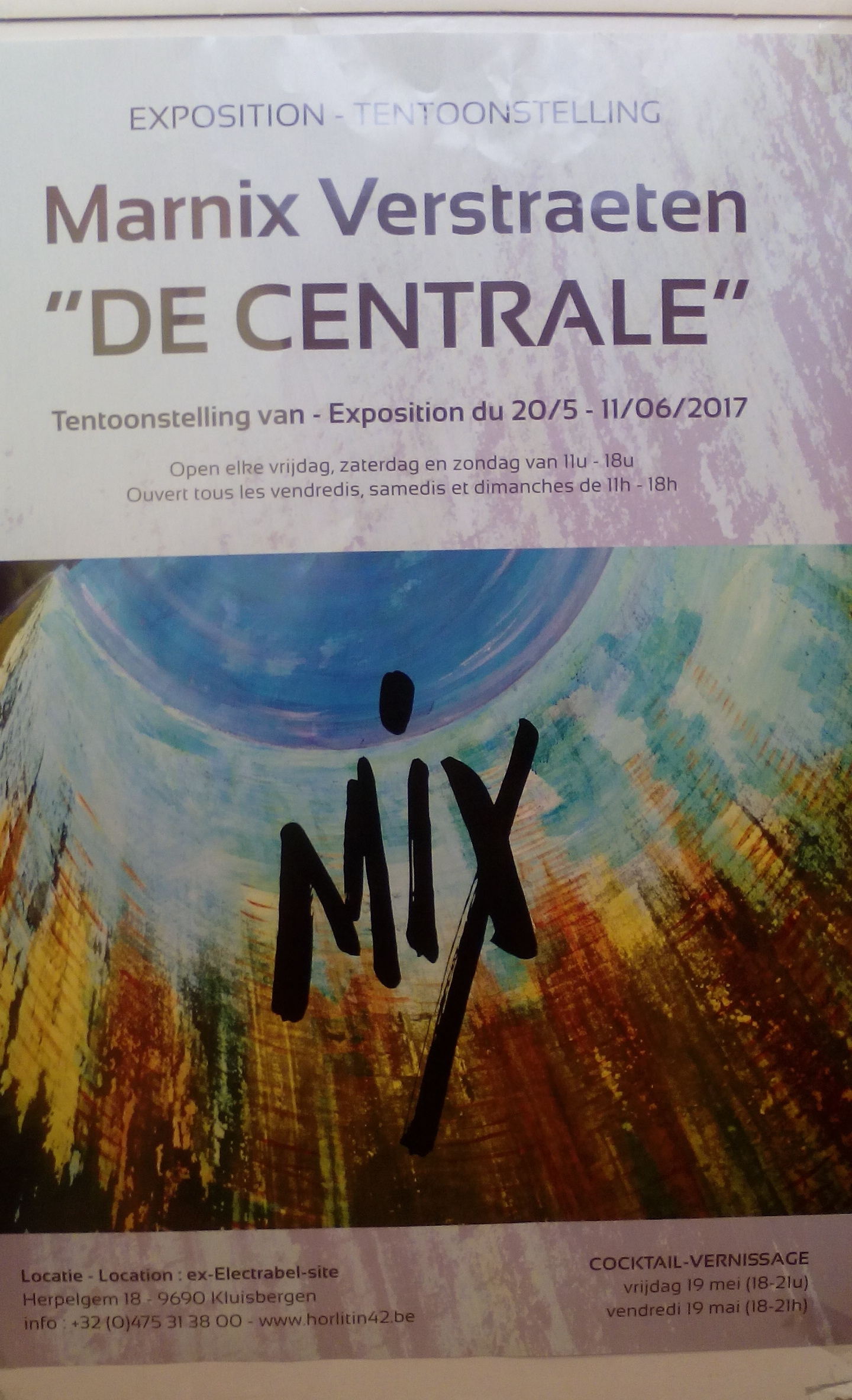 Marnix Verstraeten - tentoonstelling 'DE CENTRALE'