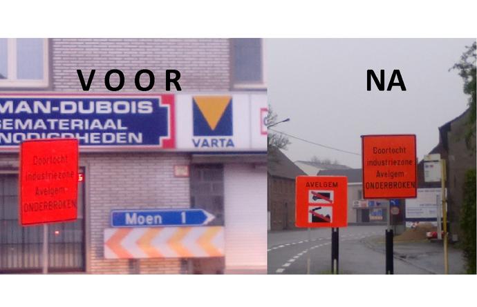 Heraanleg kruispunt N-VA Avelgem vraagt en krijgt aanpassingen signalisatie