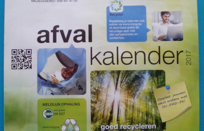 Afvalkalender Avelgem