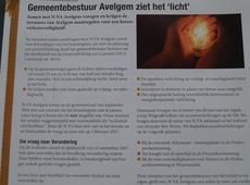 N-VA Avelgem - laatste huis-aan-huis-blad van 2017