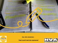 N-VA Avelgem wenst de studenten sterkte bij de examens