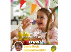 Vrolijk Pasen vanwege N-VA Avelgem