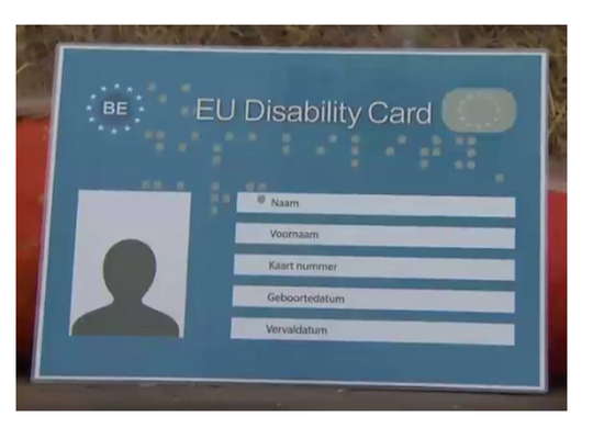 disability card