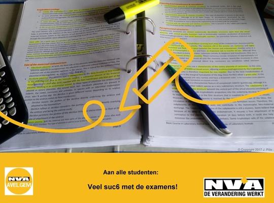 N-VA Avelgem - Examentijd