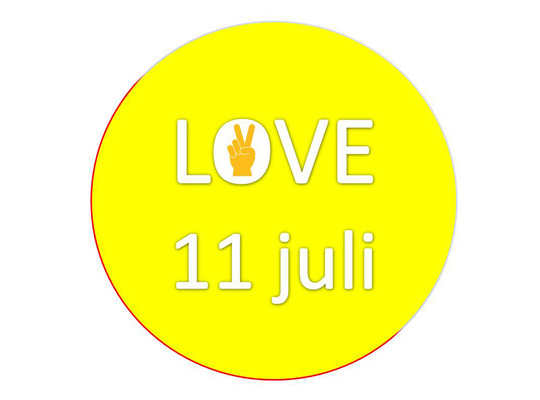 love 11 juli - Vlaamse feestdag