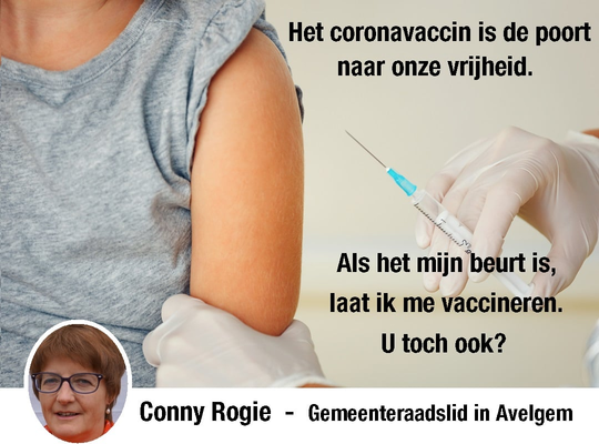 N-VA Avelgem - Het coronavaccin is de poort naar onze vrijheid