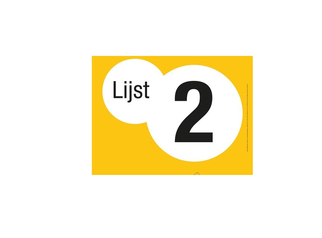 N-VA Lijstnummer - gemeenteraadsverkiezingen 2018