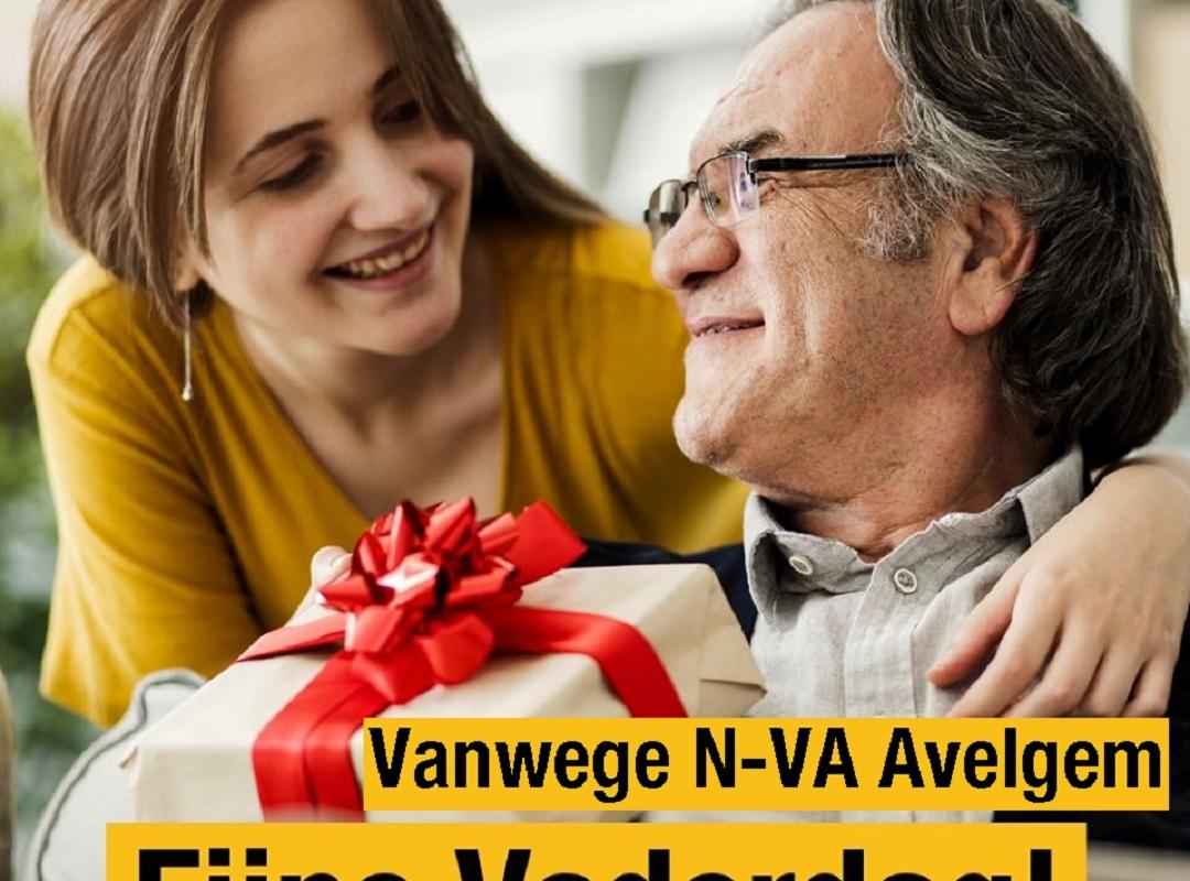 N-VA Avelgem wenst iedere papa een liefdevolle vaderdag toe.