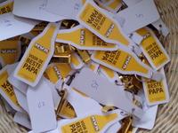 Vaderdag-actie * N-VA Avelgem - een mand vol gouden 'kroontjeswippers'